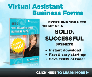 Virtual Assistant Business Forms