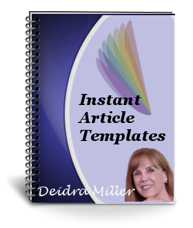 Article Templates Ecover
